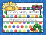 Very Hungry Caterpillar Art Project and Journal