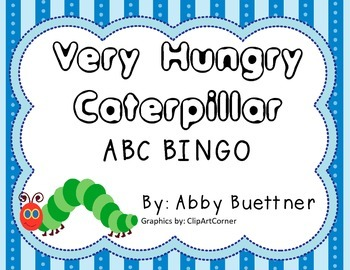 Very Hungry Caterpillar BINGO