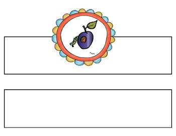 Very Hungry Caterpillar BooksBands {Retelling and Sequencing Headbands}