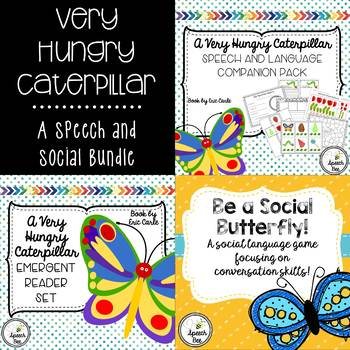 Very Hungry Caterpillar Speech and Social Bundle