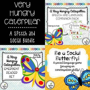 Very Hungry Caterpillar Speech and Social Bundle #spedchristmas2