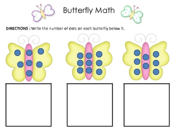 Very Hungry Caterpillar - Butterfly Math