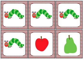 The Very Hungry Caterpillar Spanish Counting Cards & Mini-Book Set