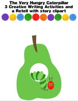 Very Hungry Caterpillar, Creative Writing