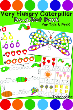 Very Hungry Caterpillar Do-a-Dot Pack