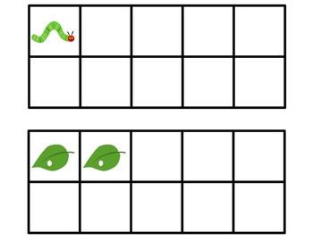 Very Hungry Caterpillar Graph-Write Around the Room