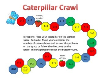 Very Hungry Caterpillar Math