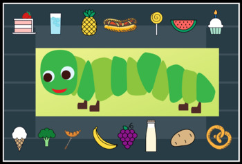 Very Hungry Caterpillar Place Setting