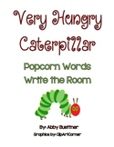 Very Hungry Caterpillar Popcorn Word Game FREEBIE!