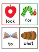 Very Hungry Caterpillar Popcorn Word Game FREEBIE!