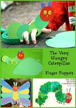 Very Hungry Caterpillar Puppetry Drama Unit