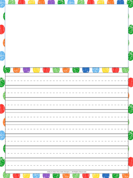 Very Hungry Caterpillar Reading and Writing Activity
