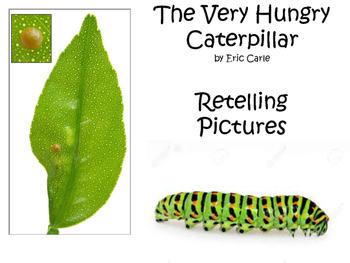 Very Hungry Caterpillar Retelling Pictures