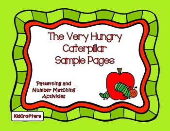 Very Hungry Caterpillar Sample Pages