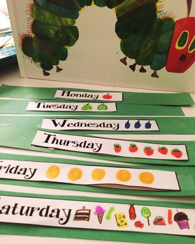 Very Hungry Caterpillar Sequence Chain