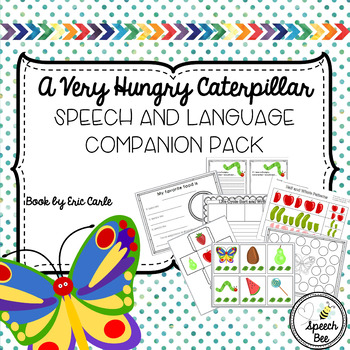 Very Hungry Caterpillar Speech and Language Companion