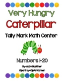 Very Hungry Caterpillar Tally Mark Math Center