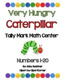 Very Hungry Caterpillar Tally Mark Math Center