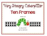 Very Hungry Caterpillar Ten Frame Math Center