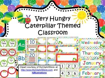 Very Hungry Caterpillar Themed Classroom