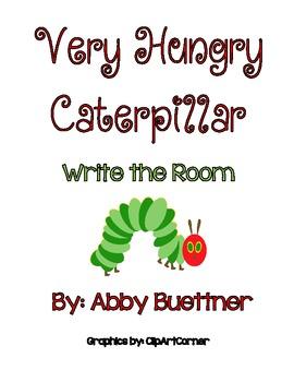 Very Hungry Caterpillar Write the Room
