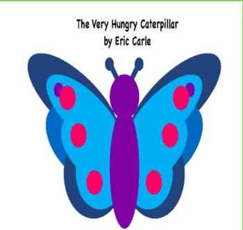 Very Hungry Caterpillar activinspire flipchart with answer pods CCSS opinion