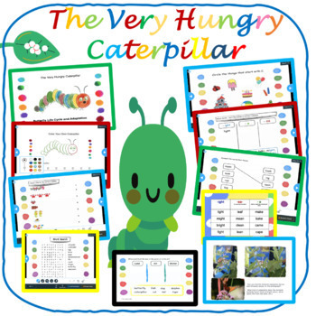 Very Hungry Caterpillar - by Eric Carle - LP Grades K-2