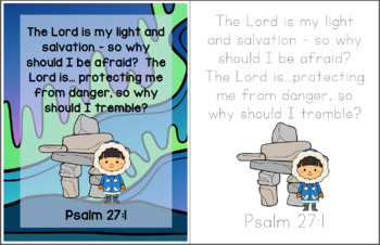 Very Last First Time Bible Verse Printable (Psalm 27.1)