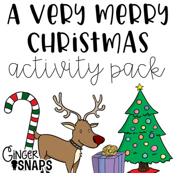 Very Merry Christmas Activity Pack
