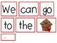 Very Merry Sentence Building Activities for December