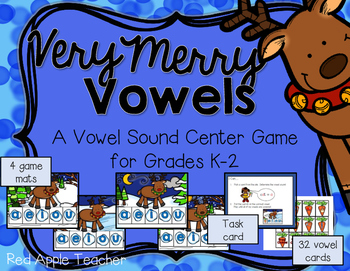 Very Merry Vowels--A Center Game for K-2