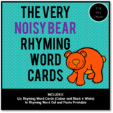 The Very Noisy Bear Rhyming Word Cards