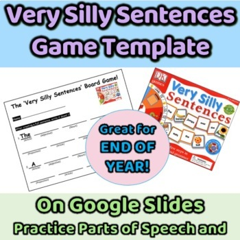 Very Silly Sentences Game Aid