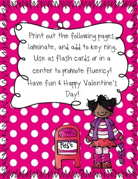 Very Valentine Sight Words