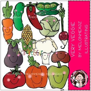 Very Veggie clip art - COMBO PACK- by Melonheadz