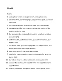 Vestiti (Clothing in Italian) Colora Worksheet 2