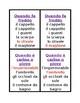 Vestiti (Clothing in Italian) Gioco di sette famiglie
