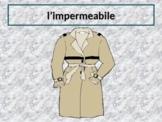 Vestiti (Clothing in Italian) PowerPoint