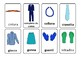 Vestiti e cose che indossiamo / Clothes and things we wear ( Italian Version )