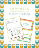 Vet Checklist for Pretend Play