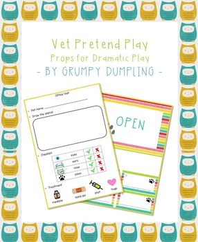 Vet Checklist for Pretend Play