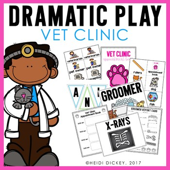 Vet Clinic/Animal Hospital Dramatic Play