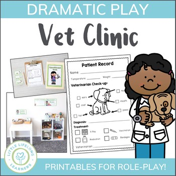 Vet Clinic Dramatic Play Printables