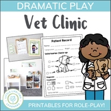 Vet Clinic Dramatic Play Printables