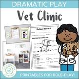 Vet Clinic Dramatic Play