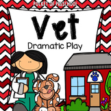 Pet Vet Animal Hospital Dramatic Play