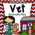 Pet Vet Animal Hospital Dramatic Play