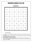 Vet Med Independent Learning Bingo