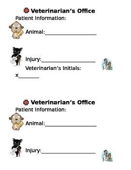 Vet Office Form
