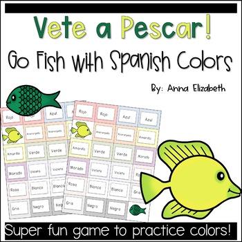 Vete a pescar! Go Fish Color Spanish Game